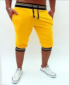2017 Fahion Cotton Shorts Men Summer Casual Bermuda Harem Shorts Mens Beach Fitness Sweat Shorts Short Hombre Outer Wear