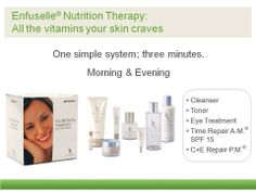 All the vitamins your skin carves! With none of the toxins your skin does not want!