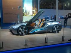 BMW I8 mondial de l'automobile 2012