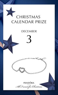 3rd of December it is al about love #PANDORAgiftidea #PANDORAchristmascontest | www.goldcasters.com