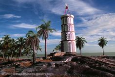 French Guiana - the Kourou lighthouse