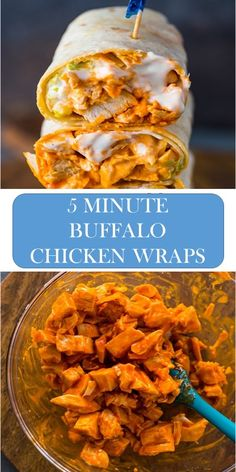 Wrap Recipes, Dinner Recipes, Dinner Ideas, Buffalo Chicken Wraps, Good Healthy Recipes, Healthy Food, Amazing Recipes, Healthy Cooking, Delicious Recipes