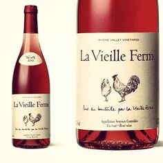 """""""If you like it pink, come here and drink."""" La Vieille Ferme Rosé"""