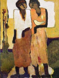 Beautiful Life, painting, Goli-Mahallati