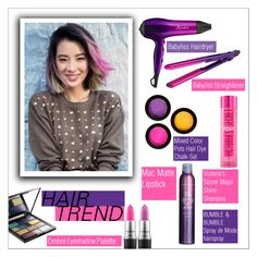 """""""Beauty Trend: Ombre Hair"""" by danielle-487 ❤ liked on Polyvore featuring beauty, BaByliss, Bumble and bumble, MAC Cosmetics and ombrehair"""
