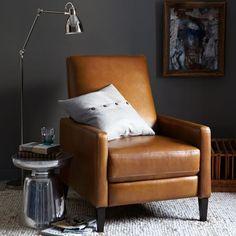 Sedgwick Leather Recliner | west elm