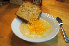 The best grits you'll ever eat.  Bacon, cheese, and butter!  And it can be cooked in a Crock-Pot!