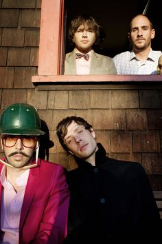 Ok Go (Dan Konopka, Andy Ross, Damian Kulash and Tim Nordwind) Ok Go, Love You So Much, My Love, Creative Video, Music People, Alternative Music, My Escape, Actors, My Favorite Music