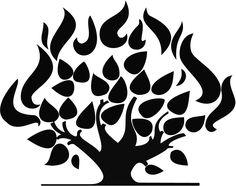 presbyterian burning bush symbol - Google Search