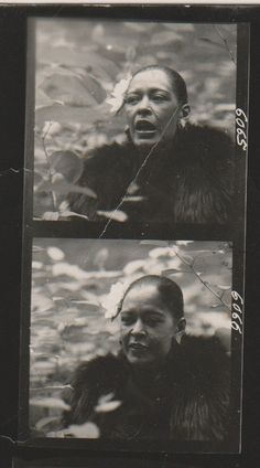 Billie Holiday by Burt Goldblatt in 1958