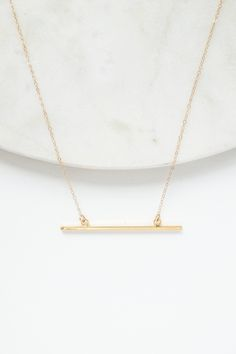 A classic minimalist jewellery piece with clean lines and refined style.