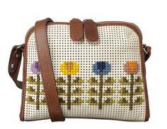 obsessed over this bag! ORLA KIELY Cross Stitch Iris Bag