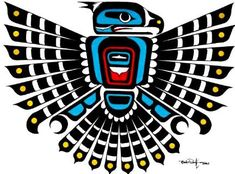 Totem Pole Tattoo With The See Tattoo Native American Totem, Native American Tattoos, Native American Patterns, Native American Artwork, Native American Symbols, Native Tattoos, Native American Design, American Indian Art, Native American Thunderbird