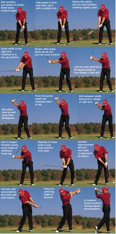 Swing sequence: Sergio Garcia - Golf Digest
