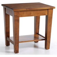Y & T Woodcraft Urban Shaker End Table