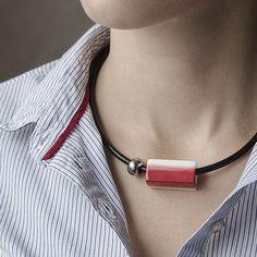 OLGA KABIE Porcelain necklace #olgakabie