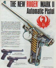 Το Ruger Mark II (ή MK II) είναι ένα ημιαυτόματο πιστόλι διαμετρήματος .22LR που χρησιμοποιείται κυρίως στο χώρο της αγωνιστικής σκοποβολής ή σε εισαγωγική εκπαίδευση όπλων χειρός σε πολλές χώρες π...