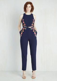 Moxie Posse Jumpsuit From the Plus Size Fashion Community at www.VintageandCurvy.com