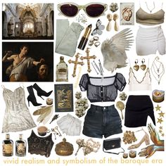 baroque art and architecture as many people requested Art Hoe Fashion, Retro Fashion, Aesthetic Fashion, Aesthetic Clothes, Looks Style, My Style, Girl Interrupted, Baroque Art, Dress To Impress