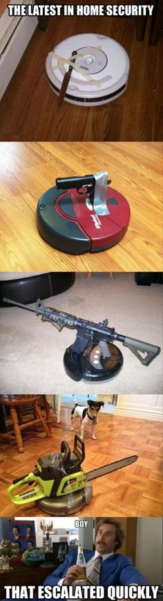 The Latest in Home Security - Fun Bild | Webfail - Fail Bilder und Fail Videos