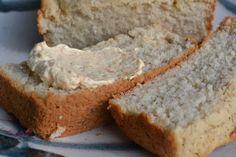 Pão de mandioca e farinha de arroz vegan