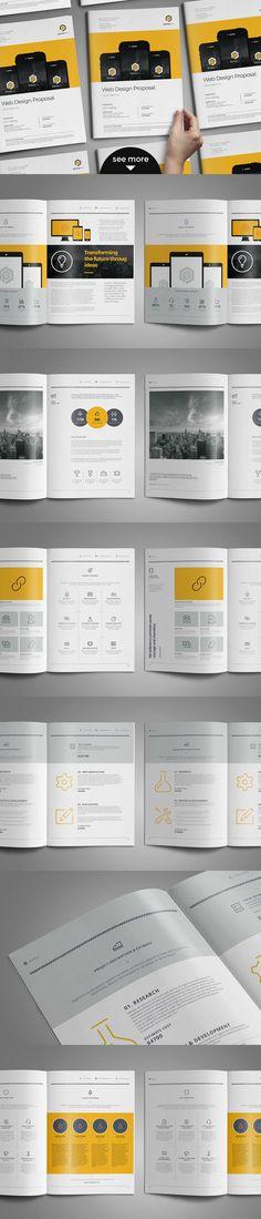 FREE DOWNLOAD! Web Design Proposal by broluthfi on Creative Market