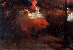 Oranjefeest, Rijksmuseum Amsterdam 1890. - Jacobus van Looy