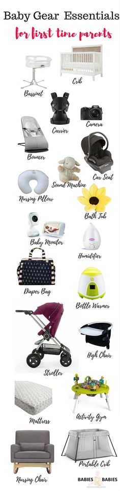 Here are the baby gear essentials you really need,not what the stores want to sell you.A short and sweet baby registry list for a first time parent.