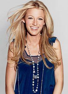 Blake Lively Straight Hair 5