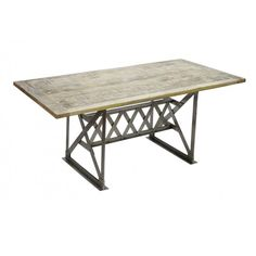 CDI Furniture - Moderna Mesa Industrial