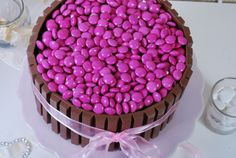 Passion 4 baking » Pink smarties Cake