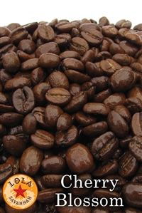 Cherry Blossom Flavored Coffee Whole Bean Or Ground Roasted Fresh In Houston Texas