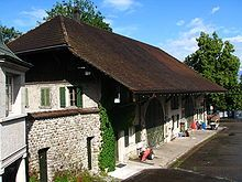 a barn of the Uster Castle in Uster Switzerland