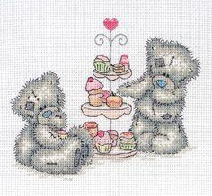 Cupcakes Cross Stitch Kit online at sewandso.co.uk