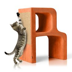 Letter R of the Alphabet collection. Scratchpad, resting area, hideaway. Fabric developed for cats - highly resistant to scratching.
