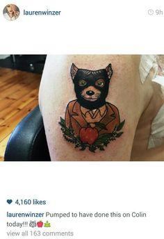Fantastic mr fox tattoo