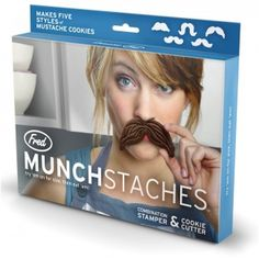 Fred Munchstaches Stamper and Cookie Cutter