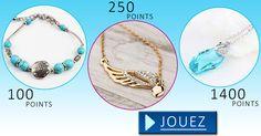 🎁 Cumulez des points et recevez gratuitement des bijoux chez vous !
