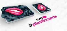 We ♥ #plasticcards