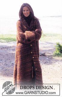 DROPS Long coat ~ DROPS Design