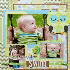 Springtime Swing - Scrapbook.com