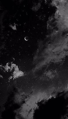 Cute Black Wallpaper, Black Background Wallpaper, Night Sky Wallpaper, Black Phone Wallpaper, Wallpaper Space, Scenery Wallpaper, Galaxy Wallpaper, Iphone Wallpaper Themes, Iphone Wallpaper Tumblr Aesthetic