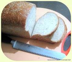 A Homemade Chef: Classic White Loaf