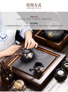 Чабань с выдвигающимся поддоном для чайной церемонии, дерево приобрести на Tao.ru: русском Таобао, магазине товаров из Китая, как Aliexpress, только надежнее!