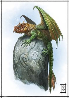 Pygmy Palm Dragon*Dragon Hatchling Egg Baby Babies Cute Funny Humor Fantasy Myth Mythical Mystical Legend Dragons Wings Sword Sorcery Magic Art Fairy Maiden Whimsy Whimsical Drache drago dragon Дракон  drak dragão https://www.facebook.com/LyntonLevengoodIllustration/photos/a.296235813817297.68052.296232060484339/311995782241300/?type=3