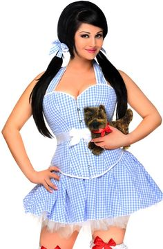 Authentic Corsets, Alternative Fashion & More! Halloween Costumes Plus Size, Plus Size Costume, Girly Outfits, Sexy Outfits, Ideal Girl, Blue Corset, Corset Costumes, Plus Size Corset, Fetish Fashion