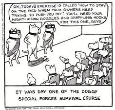 Off the leash: 10 ejemplos de la tira cómica perruna más adictiva del mundo