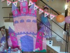 Castillos adorno pared para fiestas infantiles