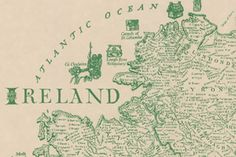 This brilliantly detailed map of Ireland lists over 700 traditional Irish surnames in the counties of their ancestry.Trace your Heritage on this Ancestral Map Irish Language, Foreign Language, Irish Catholic, Map Outline, Irish American, American Story, Irish Roots, Family Genealogy, Genealogy Quotes