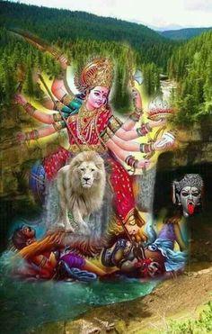 Navratri Wallpaper, Durga Kali, Ambe Maa, Navratri Images, Mata Rani, Indian Gods, Hanuman, Jay, Sai Ram